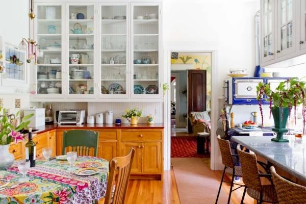 Как увеличить пространство на кухне
