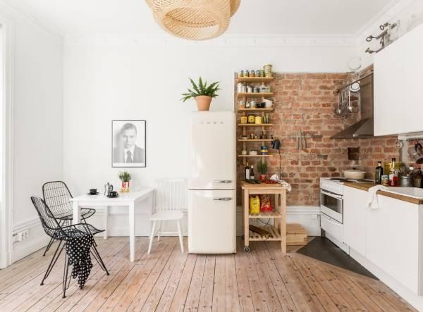 Как увеличить пространство в маленькой комнате - фото квартиры