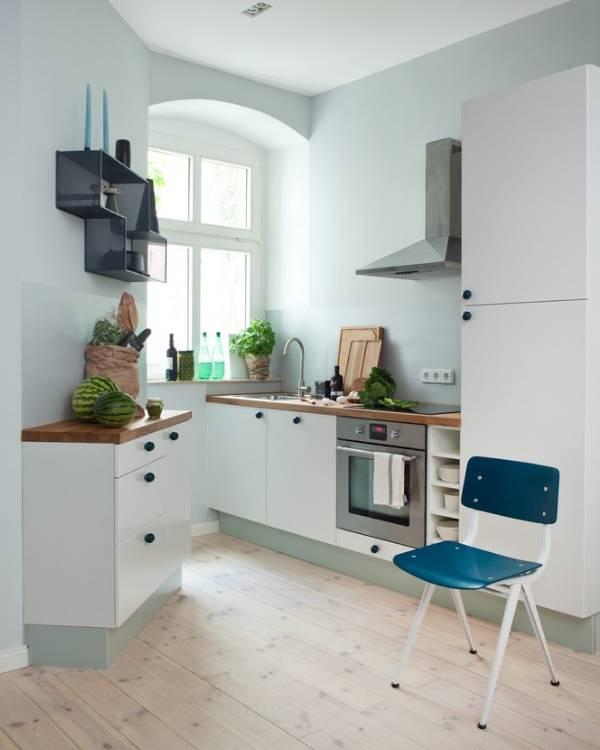 Цвет стен и мебели в маленькой комнате - подборка идей с фото