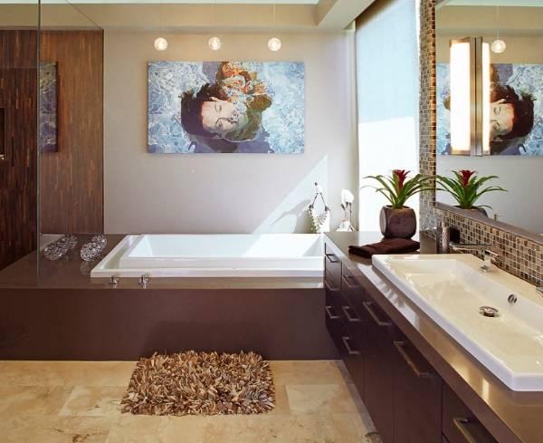 Стильный декор для ванной 2017