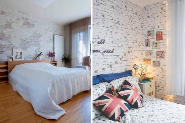 Как покрасить кирпичную стену в интерьере - разные способы