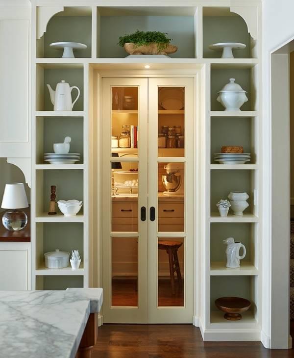 Раздвижные двери в кладовку - фото дизайна