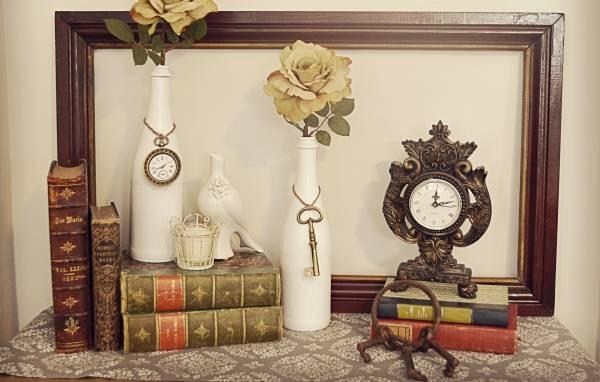 krasivye-vasy-iz-butylok-svoimi-rukami Декор вазы своими руками - идеи и мастер-классы