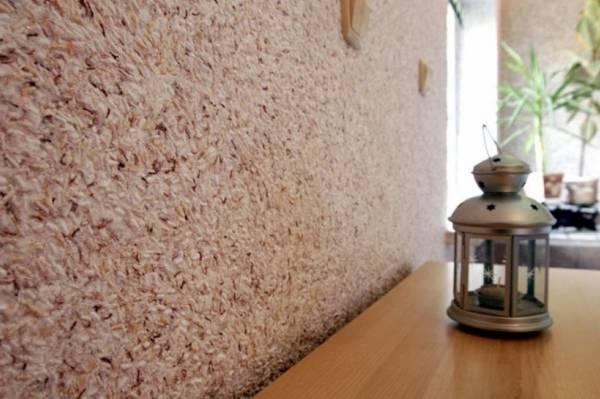 Жидкие обои в интерьере – 25 фото отделки стен