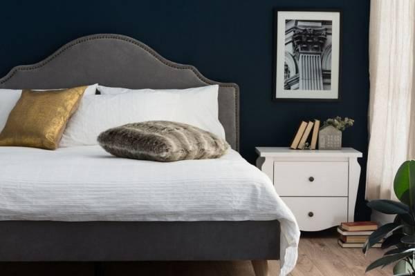 Элегантный дизайн спальни - фото 2017 современные идеи и мебель