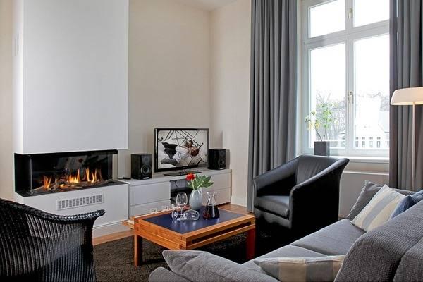 Как обустроить камин в квартире - лучшие идеи