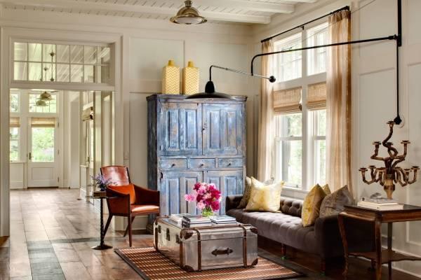 Мебель в стиле стимпанк для гостиной