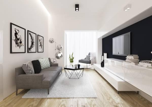 Как оформить интерьер маленькой комнаты - фото гостиной
