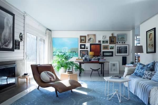 Какой цвет модный в 2017 году в дизайне комнаты - Ниагара