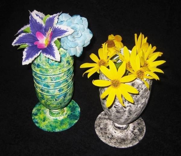 Как сделать напольную вазу из пластиковой бутылки