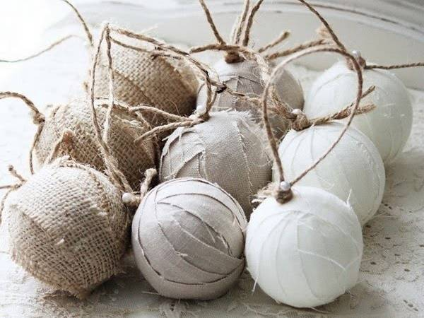 Украшаем новогодние елочные шары своими рукам