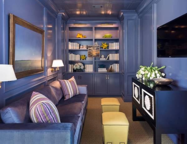 Как визуально увеличить комнату - фото гостиной