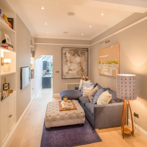Как увеличить комнату с правильным освещением