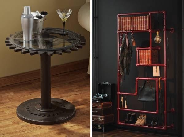 Поделки мебели в стиле стимпанк своими руками