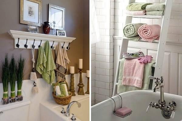 Как украсить ванную комнату - фото поделок своими руками