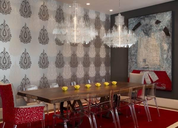 Прозрачные предметы интерьера или как сделать комнату визуально больше