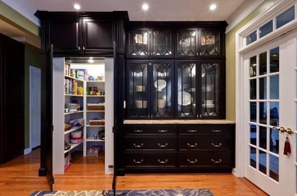 Шкаф кладовка - идея дизайна