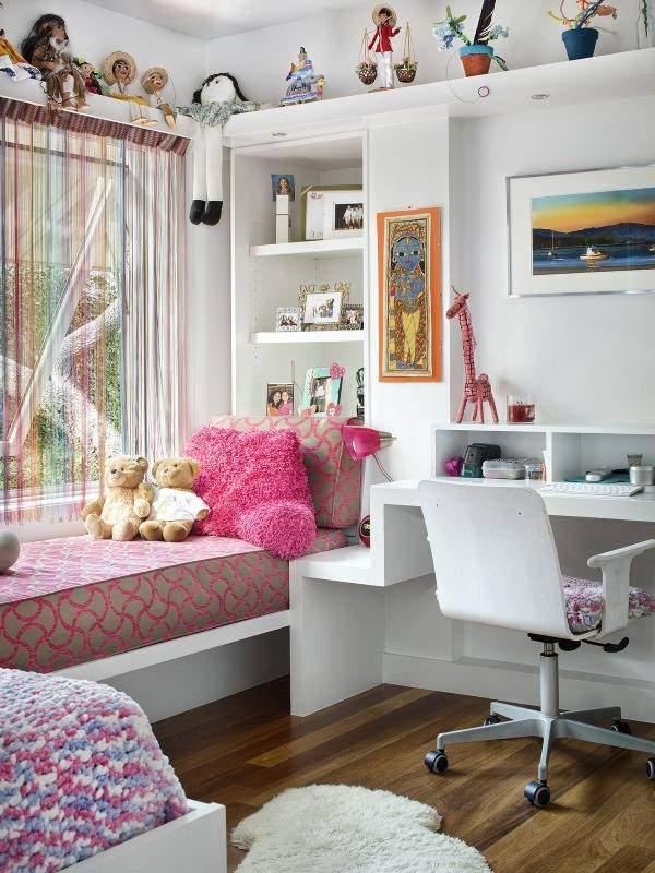 Нитяные шторы радуга - фото в интерьере