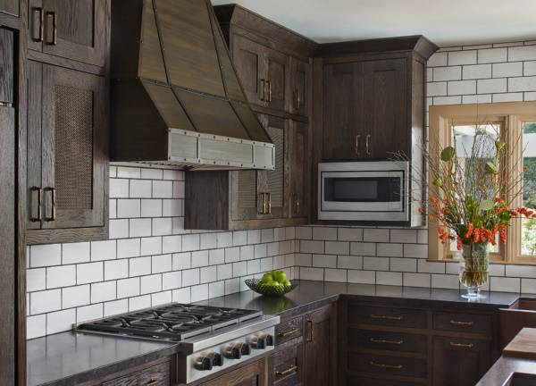 Мебель стимпанк в дизайне кухни