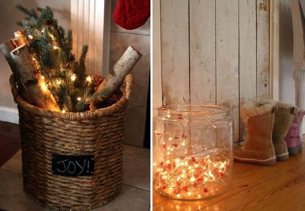 Новогодние светодиодные гирлянды - необычный декор для дома