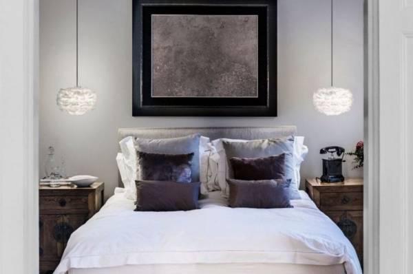 Модные цвета и материалы для дизайна спальни в 2017 году