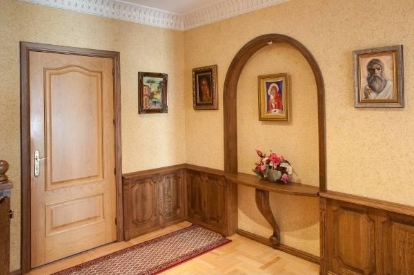 Бежевые жидкие обои - фото интерьеров в обычных квартирах