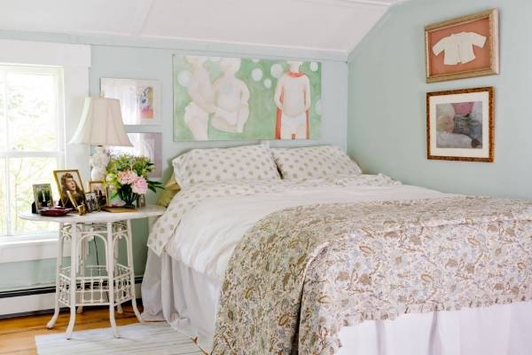 Лучшие цвета и декор для спальни шебби шик