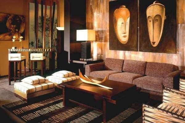 Картины, декор и мебель в этническом стиле
