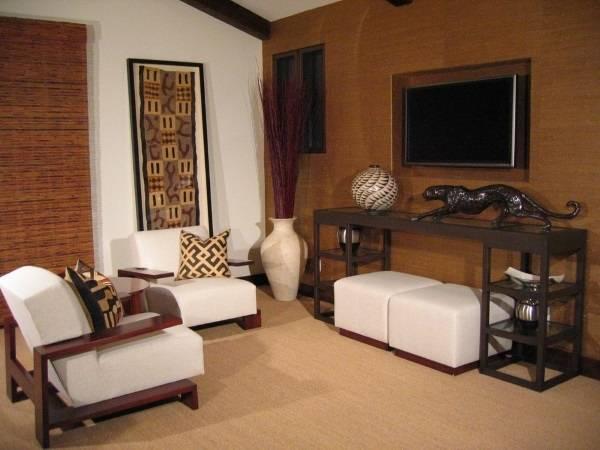 Комната в этническом африканском стиле