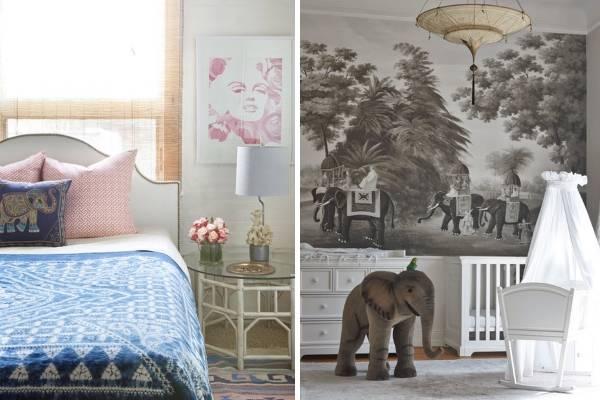 Спальня и детская комната в этническом стиле
