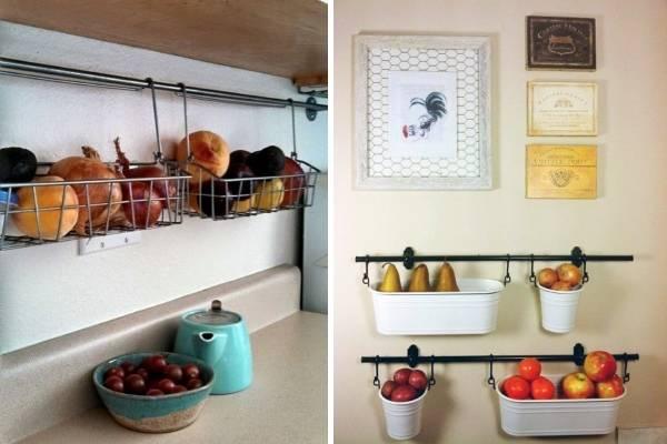 Подвесной контейнер для хранения овощей