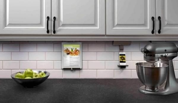 Дизайн кухни 2018 - высокие технологии