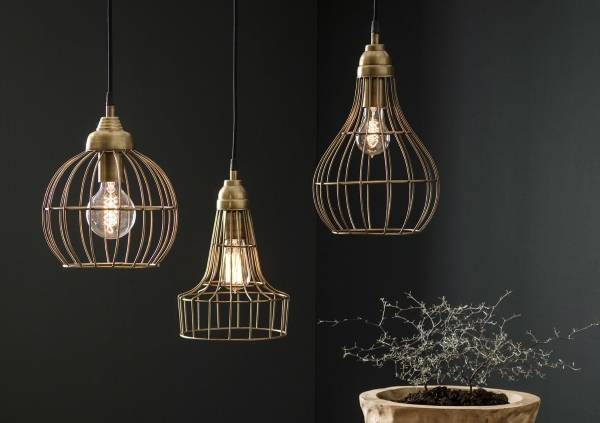 Современный подвесной светильник с лампой Эдисона