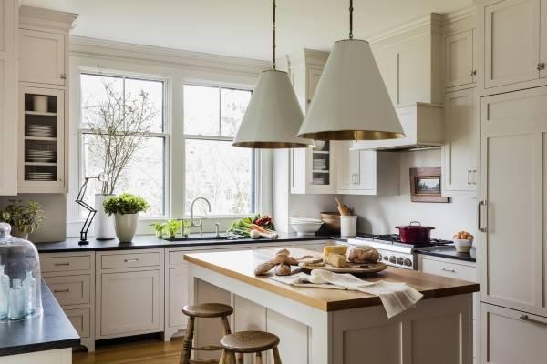 Шейкерский дизайн кухни фото 2017 - современные идеи