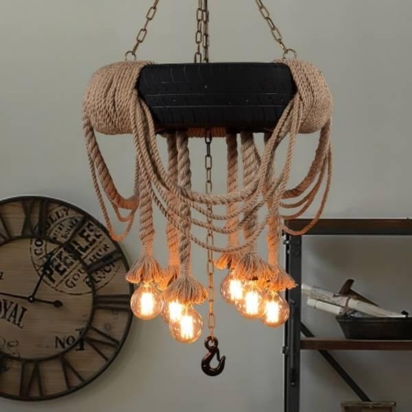 Как можно сделать светильник с лампой Эдисона