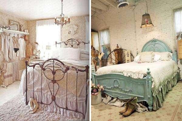 Спальня в стиле шебби шик - фото идей оформления