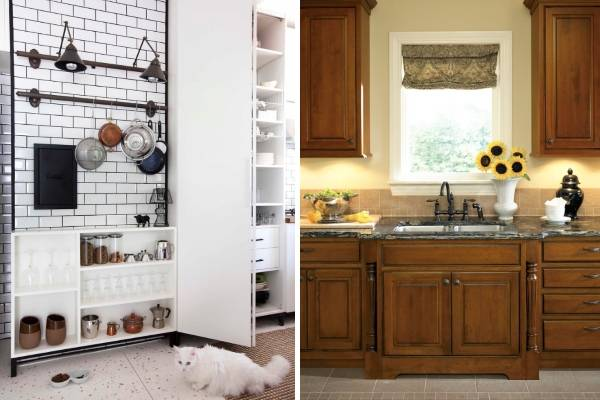 Дизайн кухни 2018 года - модные детали
