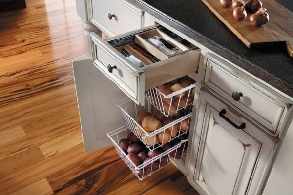Хранение овощей на кухне: правильные условия и контейнеры