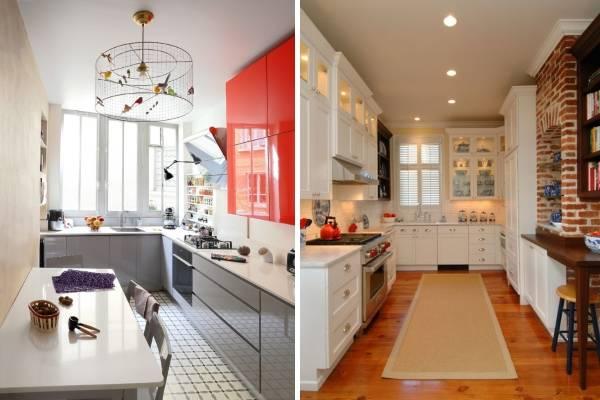 Как красиво украсить кухню подсветкой и светильниками