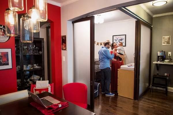 Как отделить детскую в дизайне квартиры студии