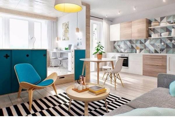 Дизайн однокомнатной квартиры с ребёнком