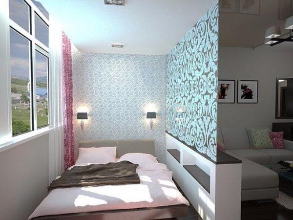 Дизайн однокомнатной квартиры 40 м кв - фото 6