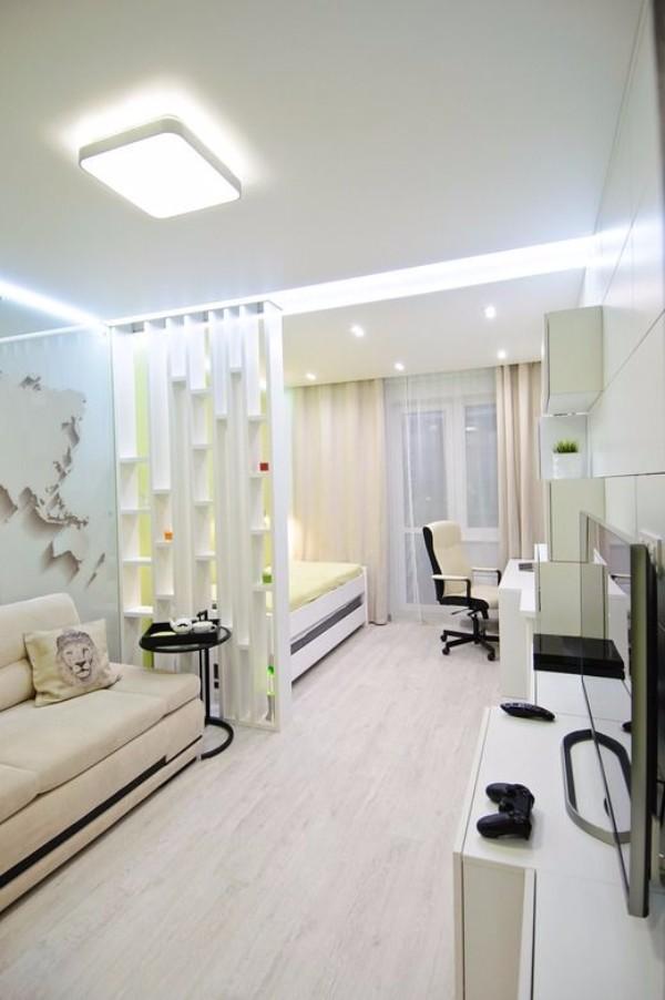 Дизайн однокомнатной квартиры 40 кв м - фото 8