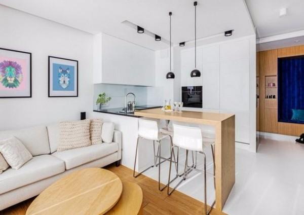Дизайн однокомнатной квартиры - фото 7
