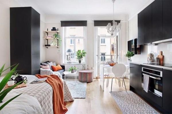 Дизайн однокомнатной квартиры 30 кв м - фото 6