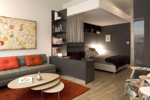 Дизайн однокомнатной квартиры 40 м кв - фото 4