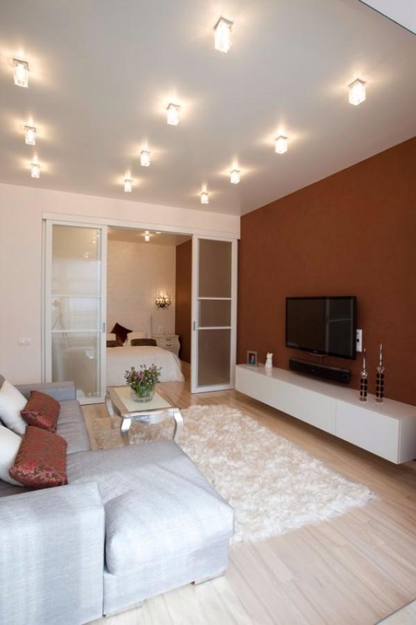 Дизайн однокомнатной квартиры 40 м кв - фото 5