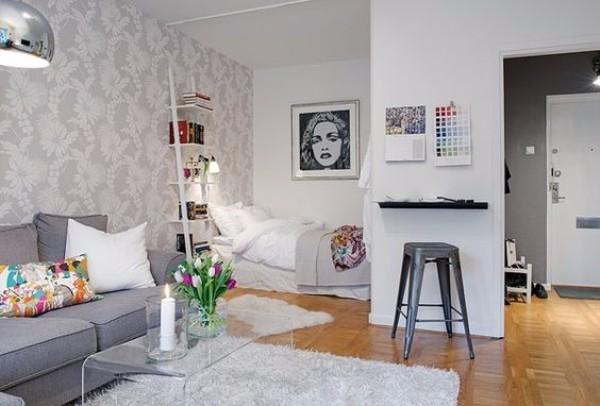 Дизайн однокомнатной квартиры 30 кв м - фото 8