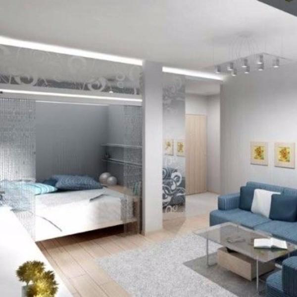 Дизайн однокомнатной квартиры - фото 6