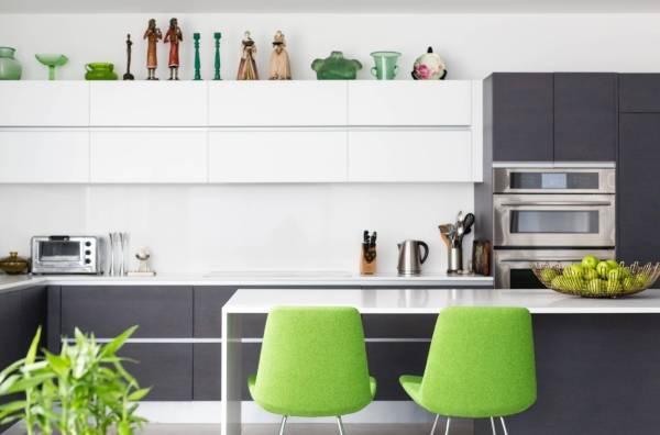 Идеи для украшения кухни - 28 фото